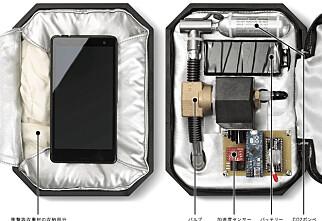 Honda finner opp airbag til mobilen