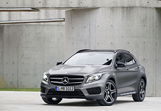 Prisene på Mercedes-Benz GLA er kommet