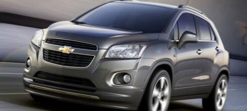 Chevrolet ut av Europa
