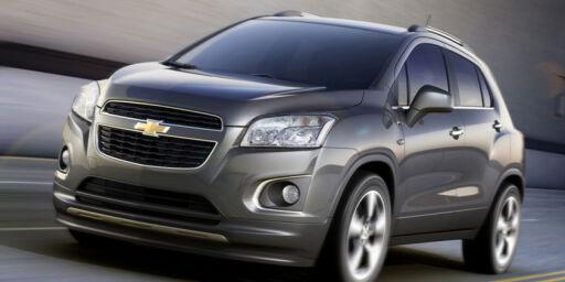 image: Chevrolet ut av Europa