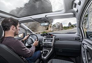 Toyota Verso med BMW-motor