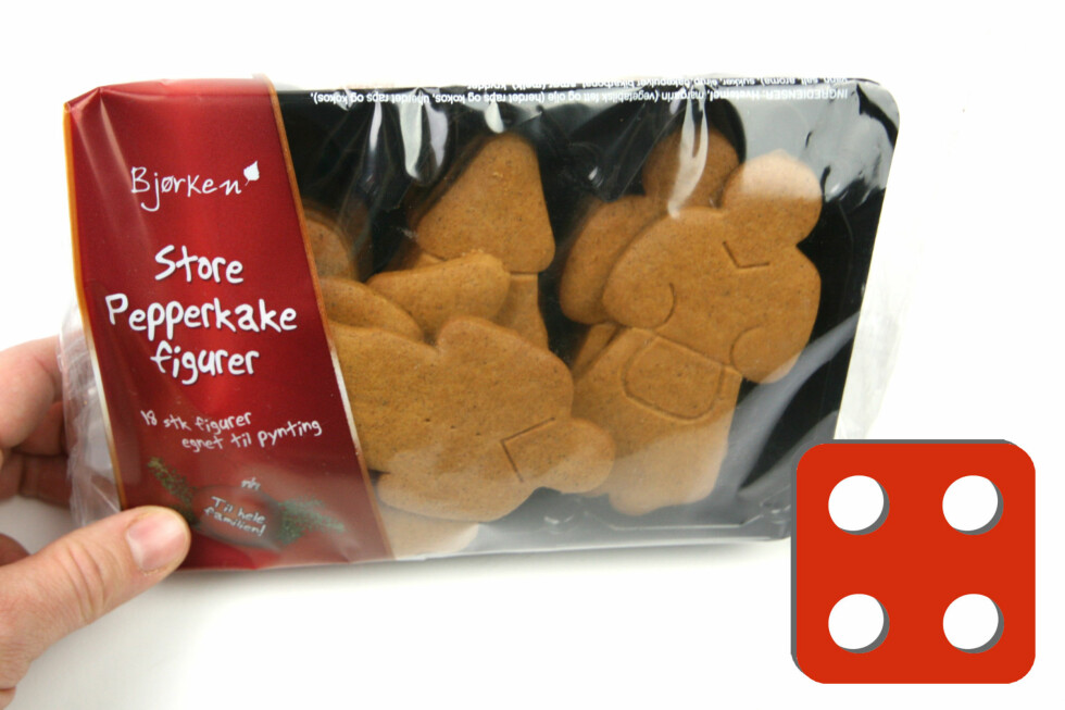 Test av pepperkaker