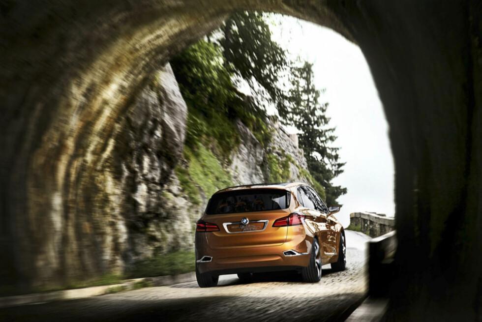 Ut av tunnelen. BMW hevdet at MPW ikke passet med deres profil for få år siden. Nå kommer den allikevel. Foto:  BMW