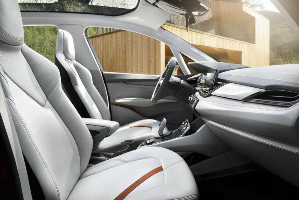 Sprekt. Slik ser nyeste versjon av innredningen ut. Foto: BMW