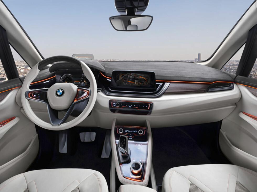 Lekkert Lysere tider inne i BMW. Foto:  BMW