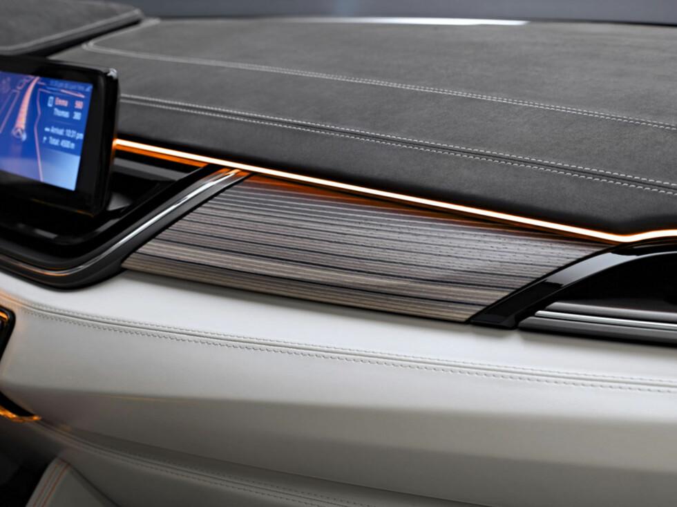 Detaljer. Tiden med nøkterne interiør er forbi. Nå skal Audi slås på interiør også.  Foto:  BMW