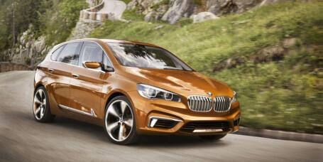BMW kommer med flerbruksbil