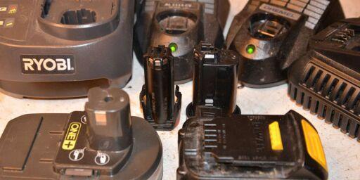 image: Pass på verktøybatteriene!