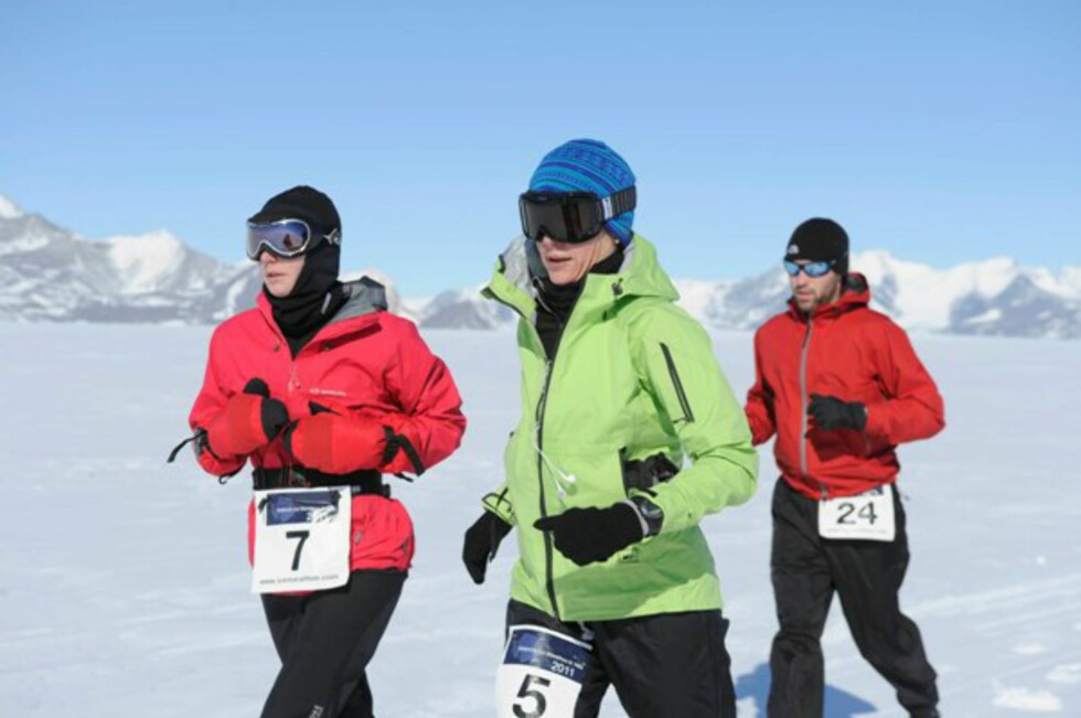 EN OPPLEVELSE: Omgivelsene er fantastiske, men underlaget er svært krevende å løpe på.  Foto: Icemarathon.com
