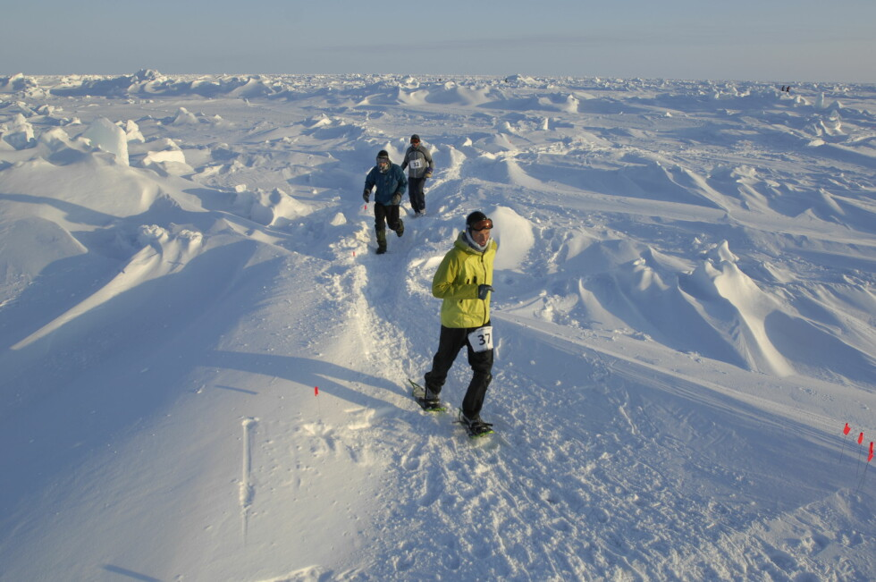 RUNDER: Av sikkerhetsgrunner går maratonen over flere runder på rundt 5 kilometer.  Foto: Aller Forlag