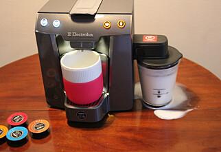 Kapselkaffemaskiner til melkebaserte kaffedrikker