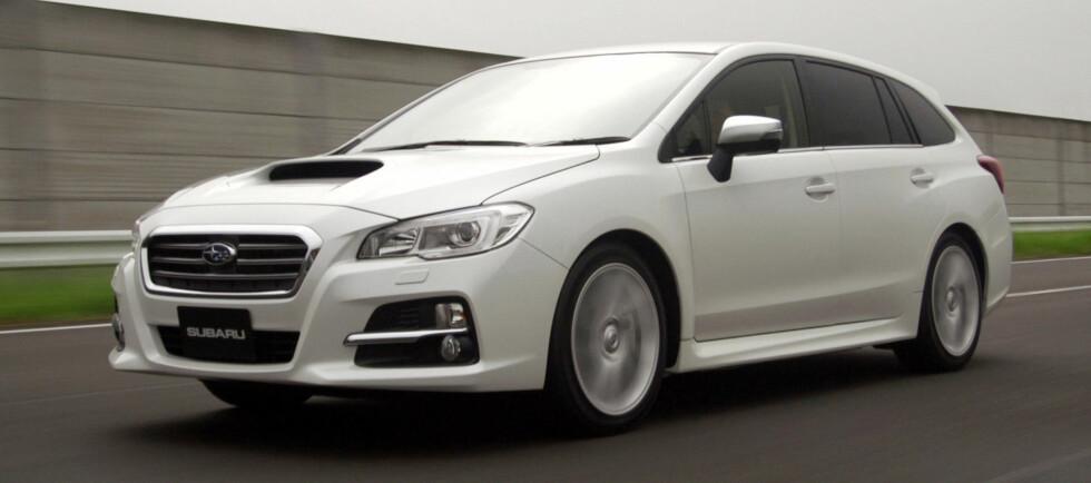 Subaru Levorg blir den nye Legacy i Europa.  Foto: Subaru