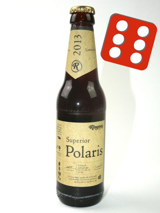 Dette polølet fra Ringens ble best i test. Ølet er såpass kraftig at det holder med et glass eller to, ifølge smaksdommerne.
