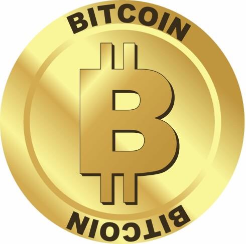 Bitcoin er en digital valuta. Men i fysisk utgave kunne den kanskje se slik ut.  Foto: Colourbox