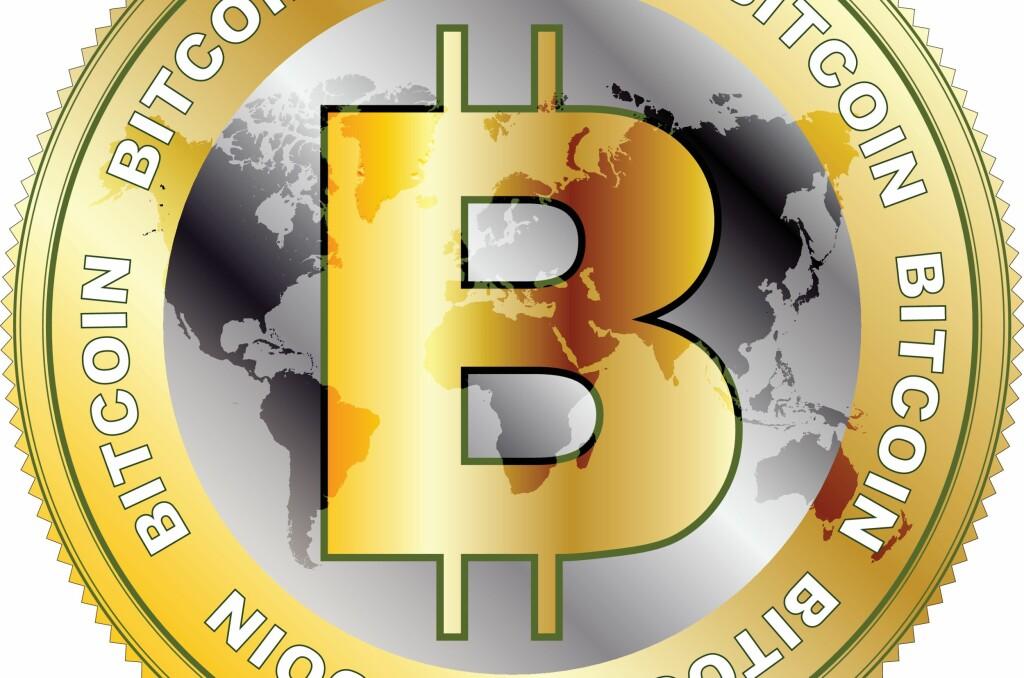<b>BITCOIN:</b> En digital valuta som hopper opp og ned i verdi. For den som spekulerer er det potensial for både store tap og store gevinster.  Foto: COLOURBOX