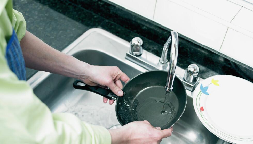 Er teflon-pannen din for dårlig?