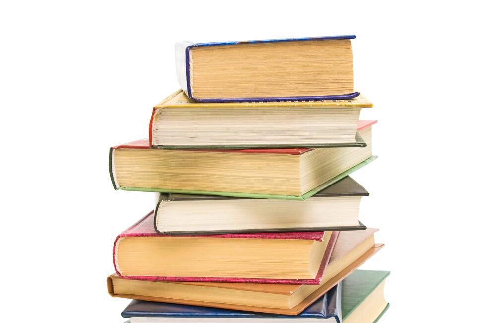 Kun bøker er fritatt for merverdiavgift ved kjøp fra utlandet. Foto: Colourbox