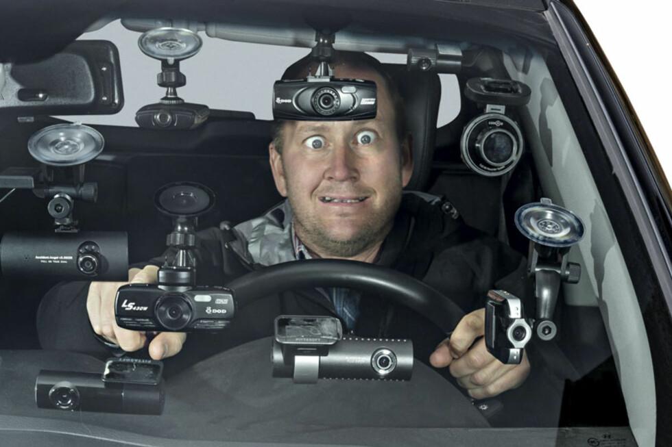 Rune Martin Nesheim ga alt i stortesten av dashboard-kameraer. Foto: Jamieson Pothecary