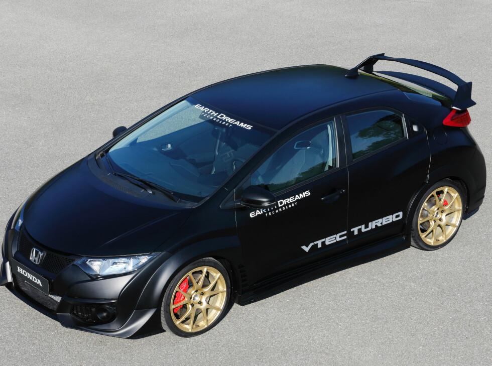 GROMBIL: Honda Civic Type R kommer i 2015. Foto: HONDA
