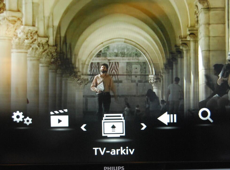 """""""TV-arkiv"""" har foreløpig ikke så mye innhold. Men det kommer, sier Canal Digital.  Foto: Thomas Strzelecki"""