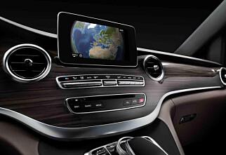 Mercedes-Benz overrasker med V-klasse