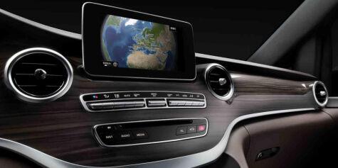 image: Mercedes-Benz overrasker med V-klasse
