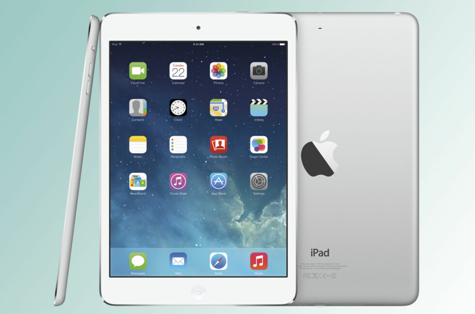 BEDRE SKJERM: Den viktigste nyheten i årets iPad mini-utgave er langt høyere oppløsning på skjermen.  Foto: Apple