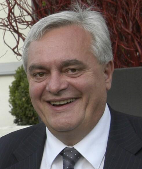<strong><b>FORNØYD:</strong></b> Peter Batta hadde ikke noe til overs for den rød-grønne regjeringens forslag, og har grunn til å være fornøyd. Foto: Huseiernes Landsforbund