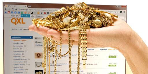 image: Kjøpte falskt gull på QXL