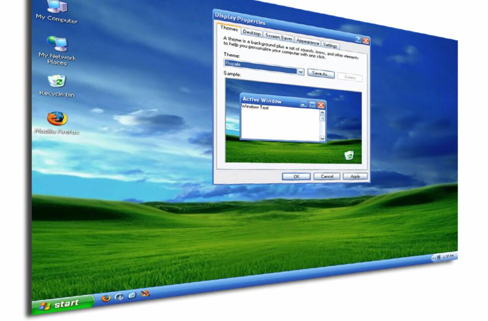 Jovisst fungerer det helt utmerket for mange fortsatt, men sikkerheten er ikke lenger god nok i XP, hevder Microsoft, som kutter alle oppdateringer etter april 2014. Foto: Bjørn Eirik Loftås