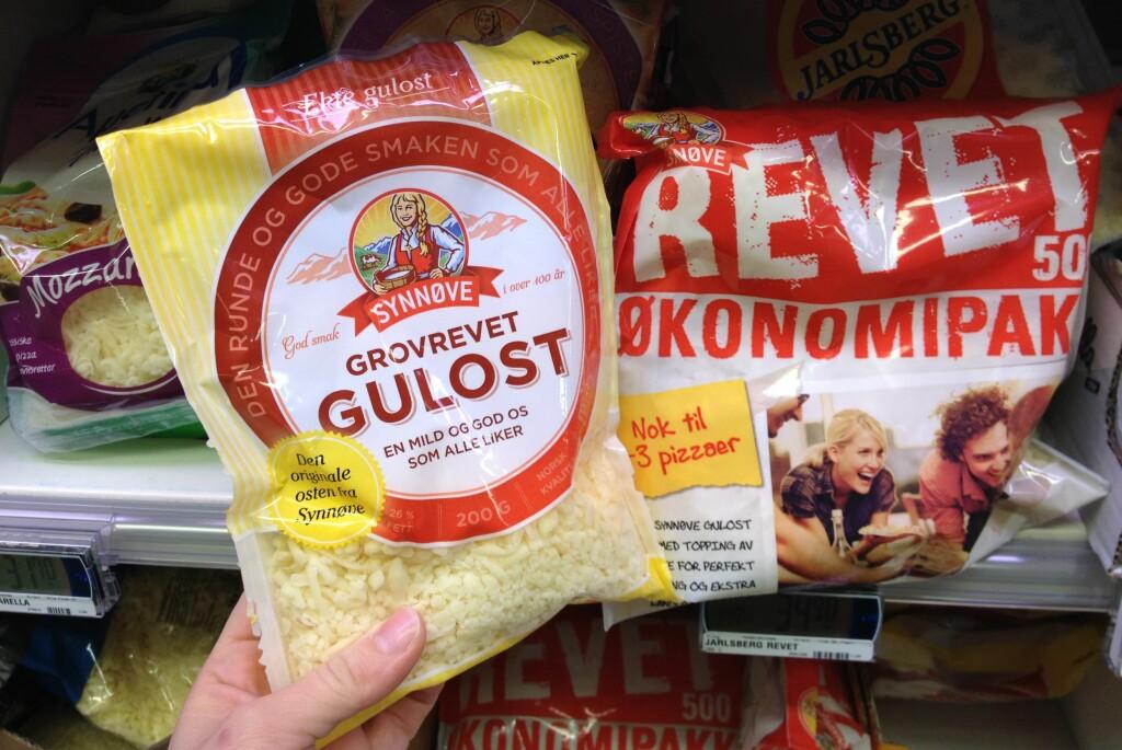 Bare produktet til venstre kan kalles ost. I artikkelen får du forklaring på hvorfor. Foto: Berit B. Njarga