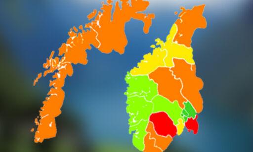 image: Her er fylkene med flest uføre - og derfor er det sånn