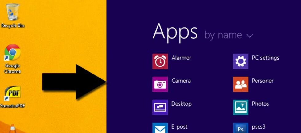 Dette trikset skyver bort startskjermen og tar deg direkte til skrivebordet når du logger deg inn i Windows 8.1