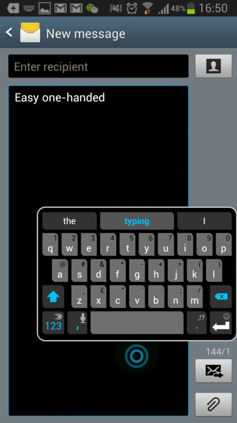 SwiftKey blir bedre på større skjerm