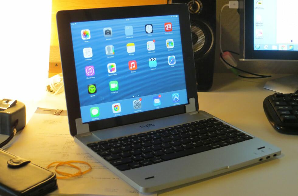Denne tastaturløsningen til iPad er blant de smarteste vi har testet. Foto: Bjørn Eirik Loftås