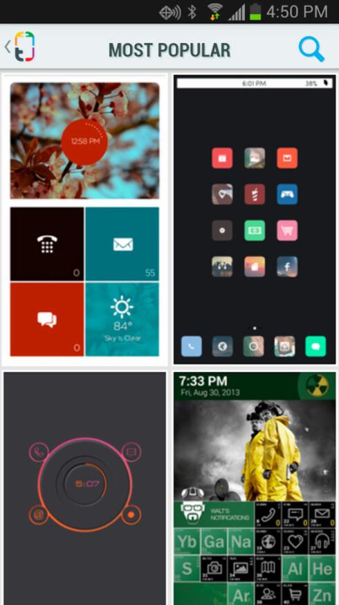 Gi Android-telefonen et nytt utseende