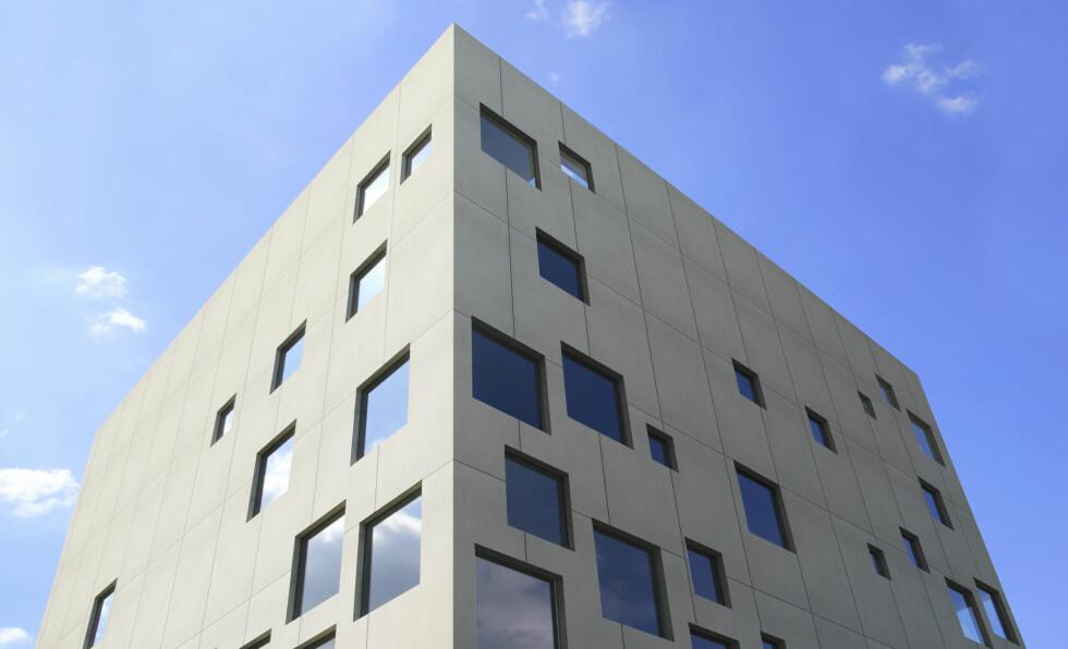 Mulig bruk av Dekton: Som fasade. Foto: cosentino