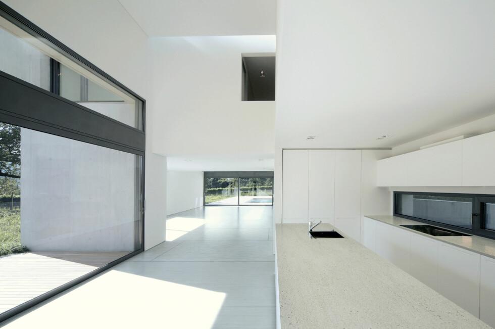 Dekton i moderne husbygging Foto: cosentino