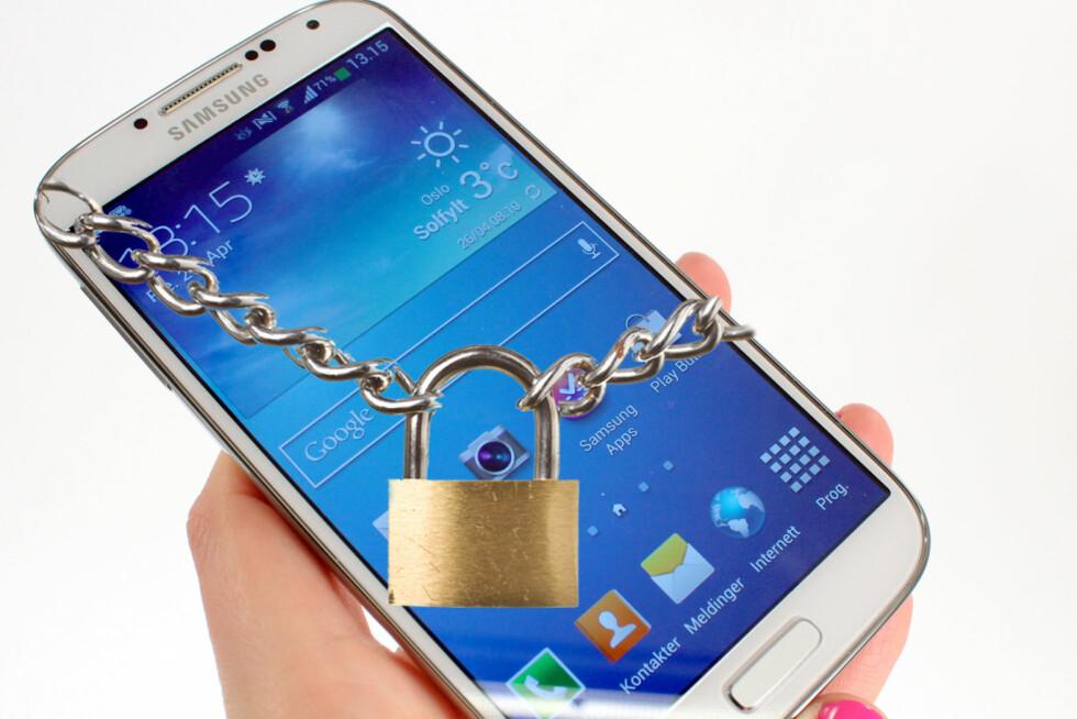 Samsung innfører regionsperre på blant annet Samsung Galaxy S4. Foto: Kirsti Østvang/Gaute Beckett Holmslet