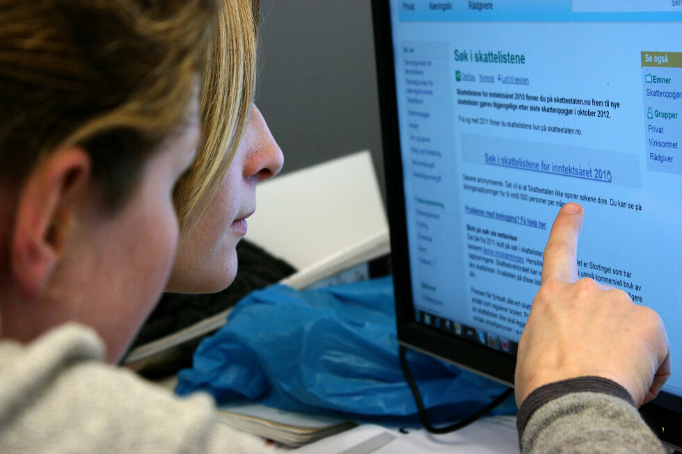 Regjeringen vil at den du søker opp skal få beskjed om snokingen. Foto: Ole Petter Stokke