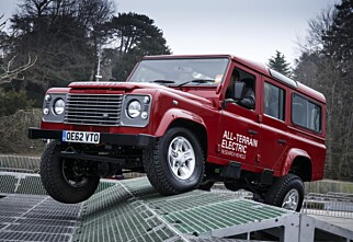 Land Rover Defender som elbil