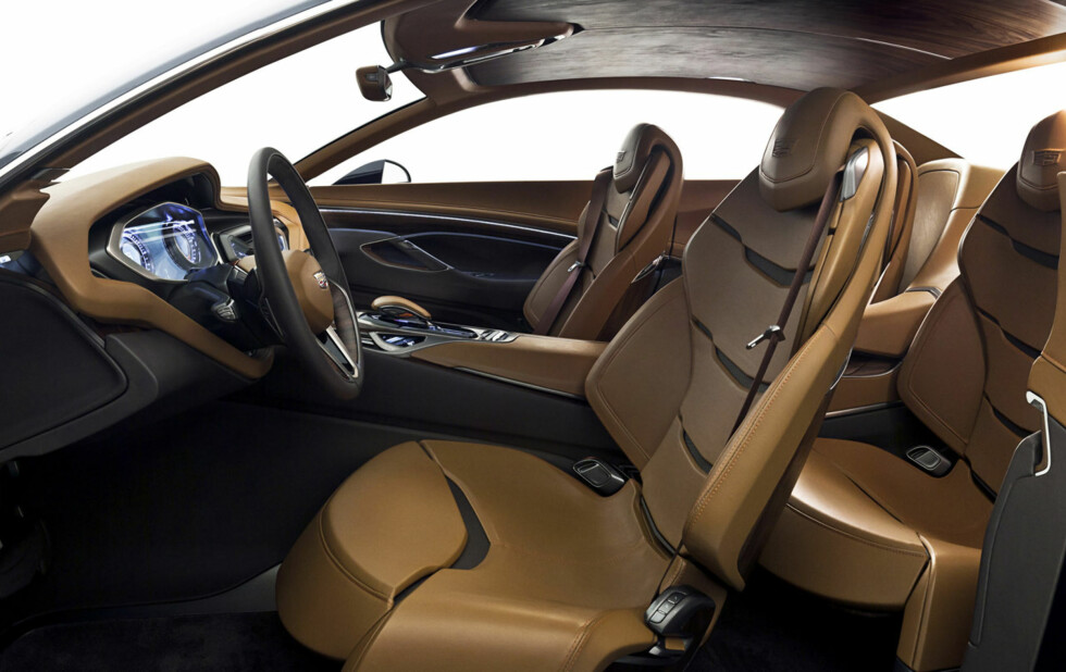 The Elmiraj Concept advances Cadillac's provocative modern design and performance, contrasted with bespoke craftsmanship and luxury.
