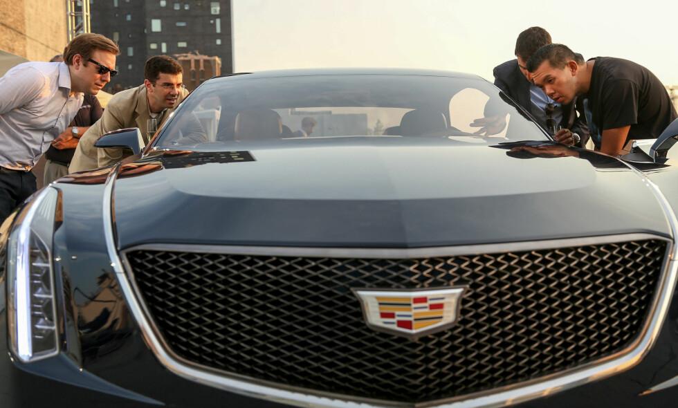 Bilde fra den første visningen av Cadillac Elmiraj Concept, som fant sted i New York sent i august. Foto: Cadillac News Photo