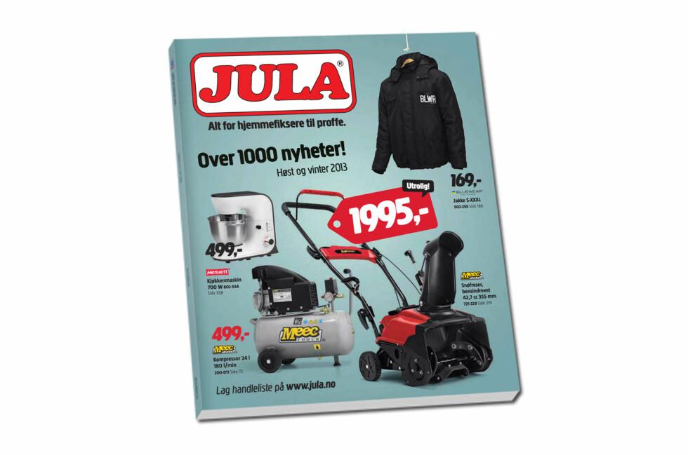 Ny Jula-katalog