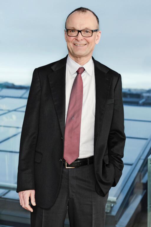 Tom Colbjørnsen er rektor ved Handelshøyskolen BI. Foto: Nicolas Tourrenc