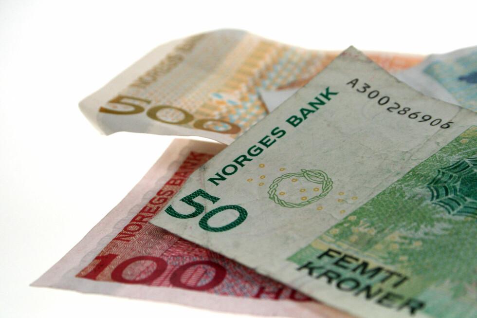 Disse sedlene skal om noen år byttes ut med en ny serie, hvor Norges Bank vil ha innspill til nye sedler fra folk flest.  Foto: OLE PETTER BAUGERØD STOKKE