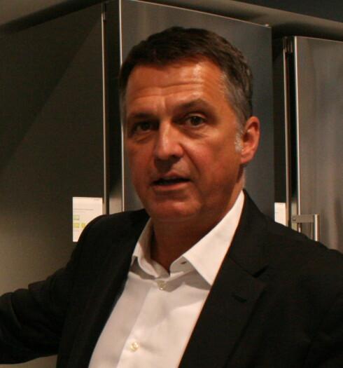 Gerhard Nüssler, sjefdesigner i Siemens. Foto: Elisabeth Dalseg