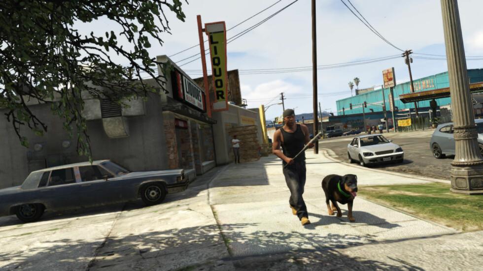 Stillbilde fra filmen Foto: Rockstar Games
