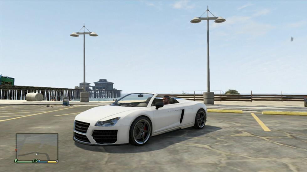 Tydelig inspirert av Audi R10 Spyder... Foto: Rockstar Games