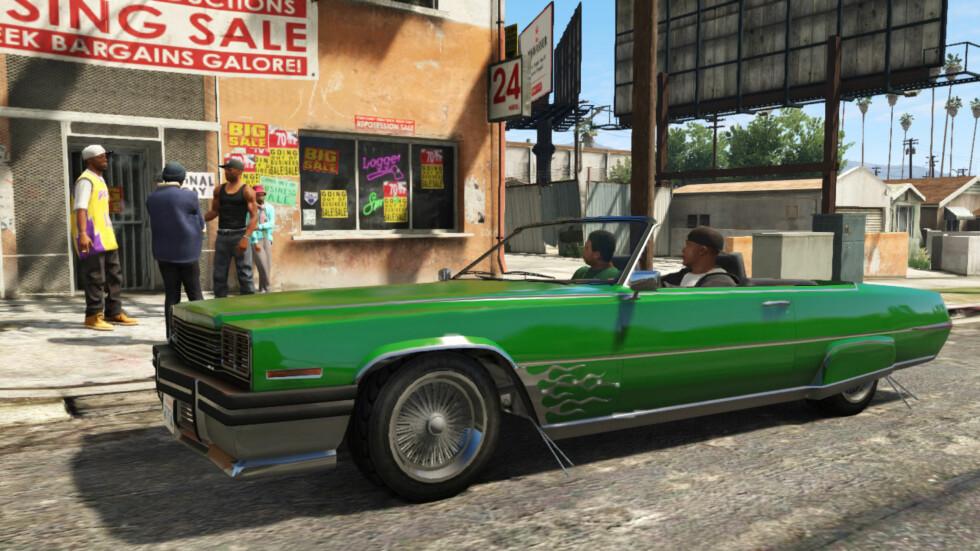 Dette er custom så det holder. Foto: Rockstar Games